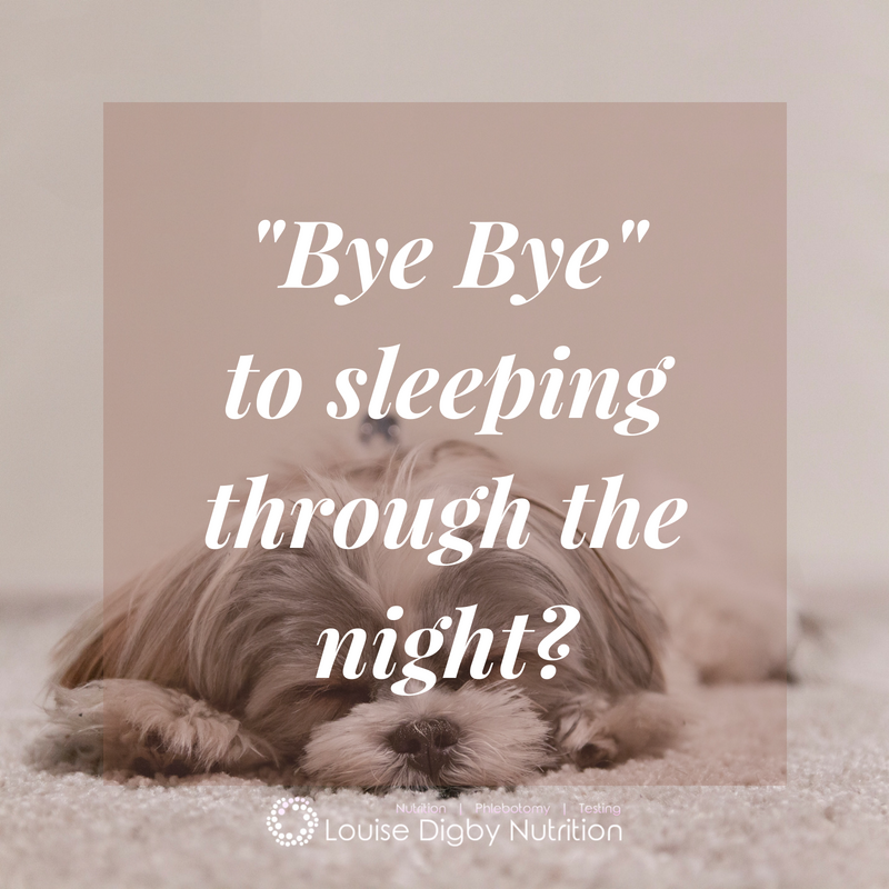 "Have you said ""bye bye"" to sleeping through the night?"